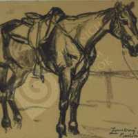 Zombory Lajos - Lótanulmány